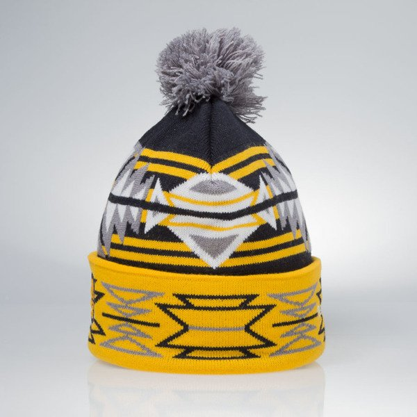 Mitchell & Ness winter beanie Indiana Pacers navy / yellow KN51Z GeoTech