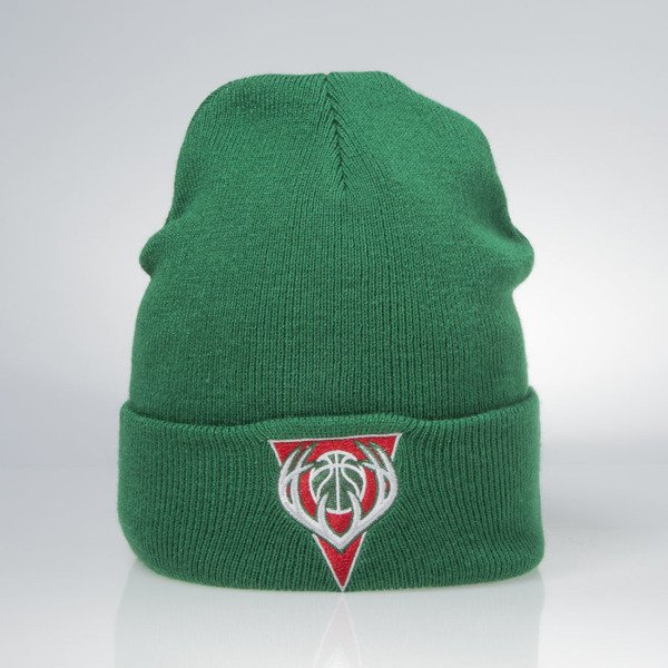 Mitchell & Ness winter beanie Milwaukee Bucks green EU175 Team Talk