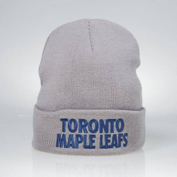 Mitchell & Ness winter beanie Toronto Maple Leafs grey EU253 Headline