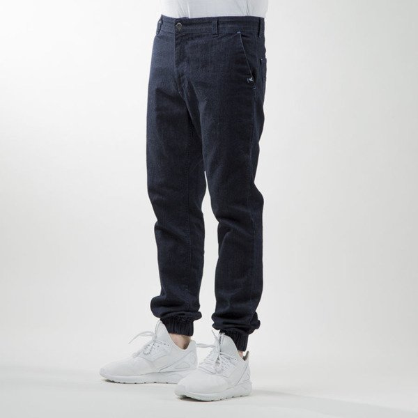 Nervous pants Jogger Denim indygo