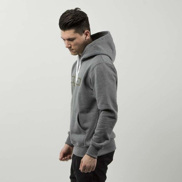 Nervous sweatshirt Hood Forces grey