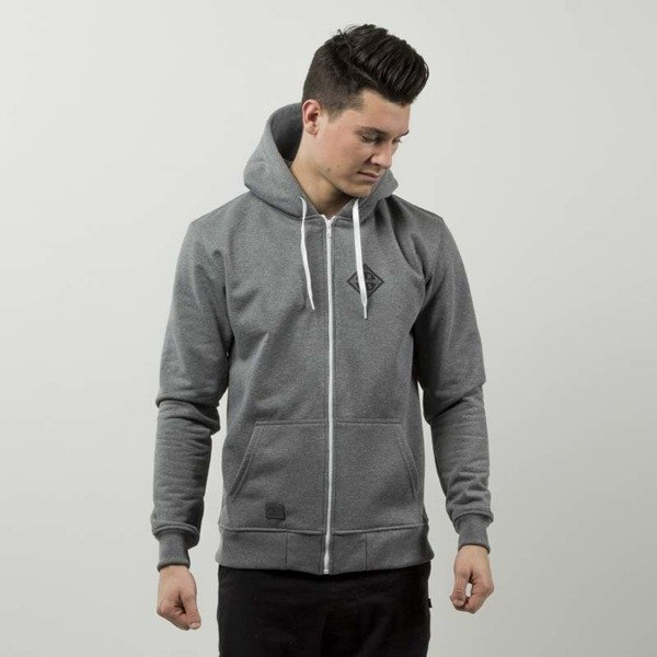 Nervous sweatshirt ZIP Hood Sphere grey