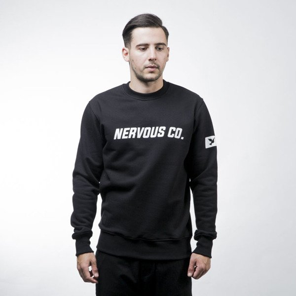 Nervous sweatshirt crewneck CO black
