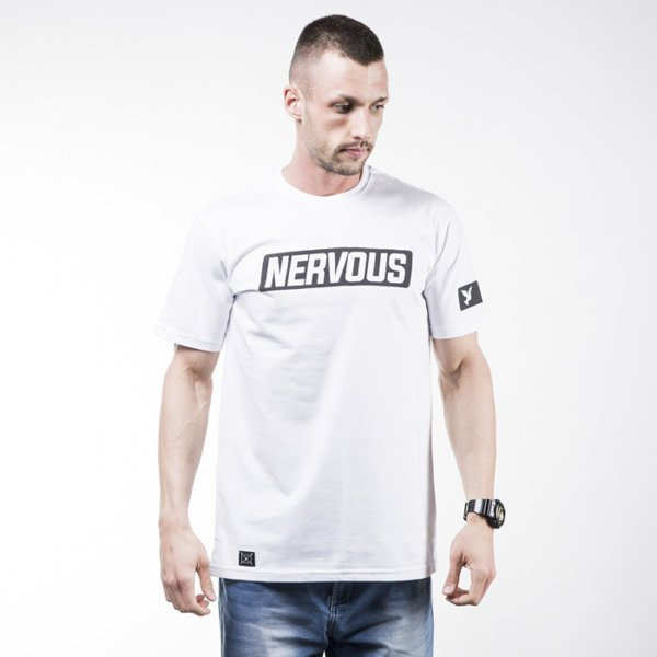 Nervous t-shirt Back To white