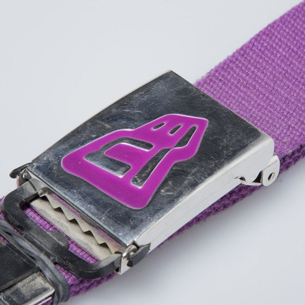 New Era Belt Logo purple