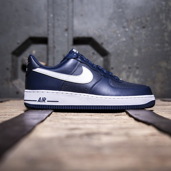Nike Air Force 1 '07 Low midnight navy / white (488298-436)