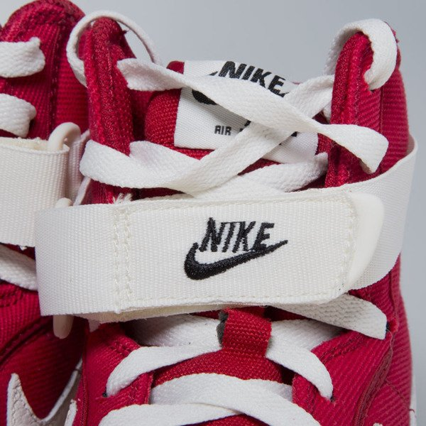 Nike Air Force 1 High Retro gym red / sail-black (832747-600)