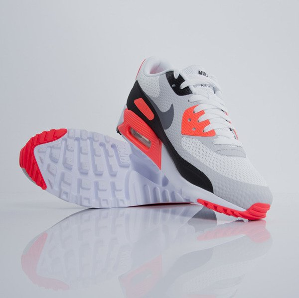 Nike Air Max 90 Ultra Essential white / cool grey - infrared - black (819474-106)