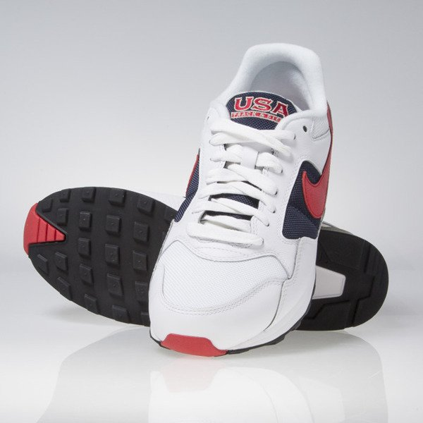 Nike Air Pegasus '92 Premium white / university red-midnight navy (844964-100)