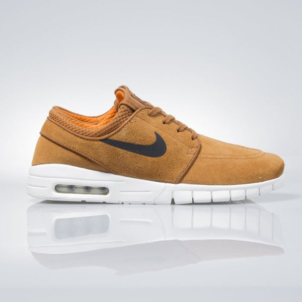 Nike SB Stefan Janoski Max Leather hazelnut / black-ivory 685299-201