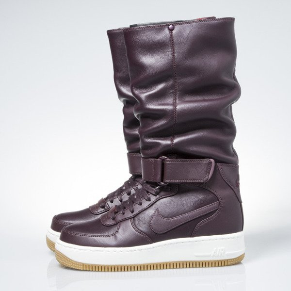 Nike WMNS Air Force 1 Upstep Warrior burgundy (860522-600)