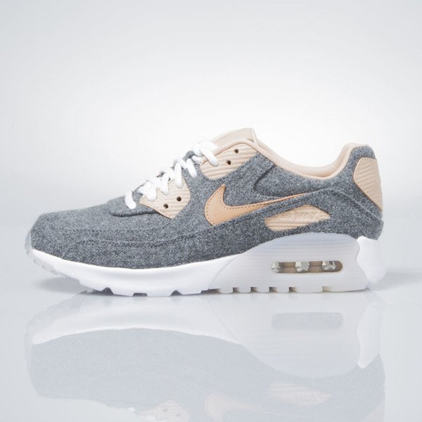 Nike WMNS Air Max 90 Ultra Premium cool grey / vachetta tan-white 859522-001