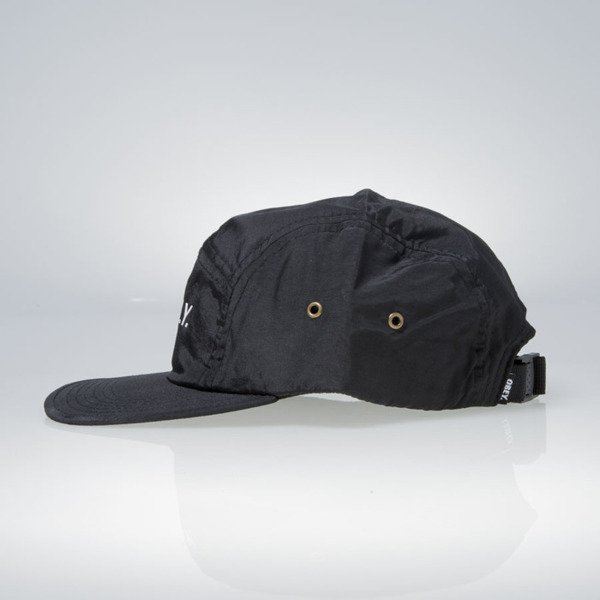 Obey Contorted 5 Panel Cap black