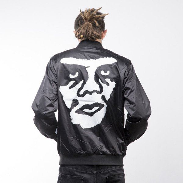 Obey Creeper Graphic Jacket black