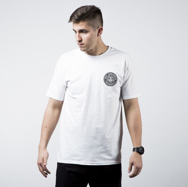 Obey T-Shirt With Stamp Back Print white
