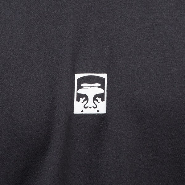 Obey T-shirt Half Face black