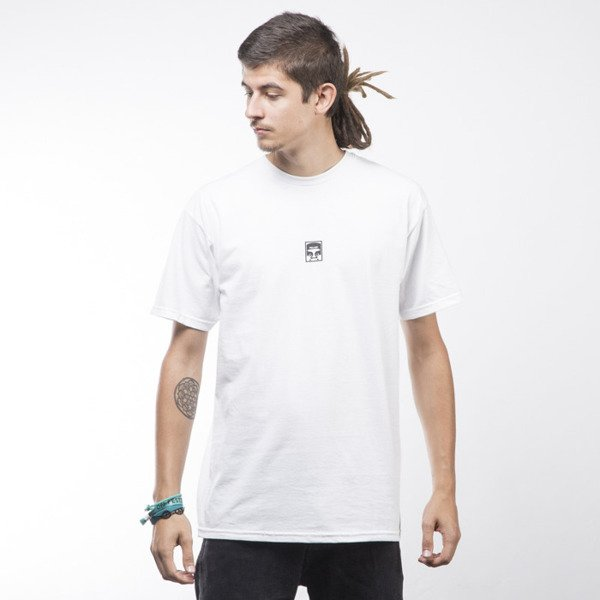 Obey T-shirt Half Face white