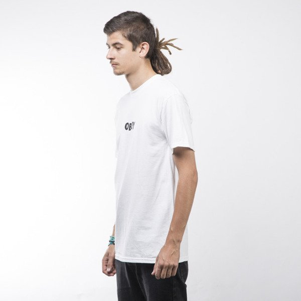 Obey T-shirt Jumbled white