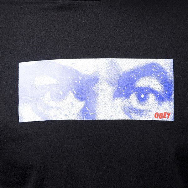 Obey The Watcher Tee black