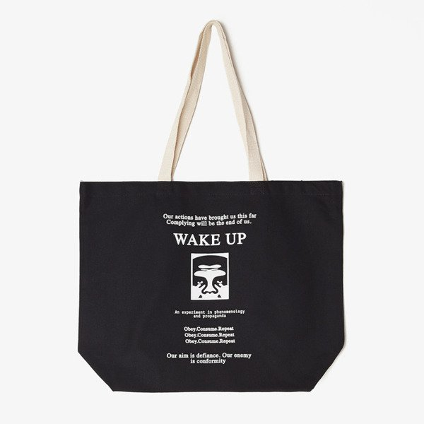 Obey Wake Up Tote black