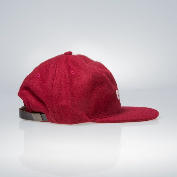 Obey strapback 6 Panel Afton burgundy