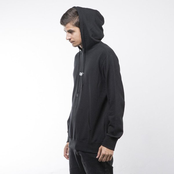 Obey sweatshirt Jumble Bars Hood black