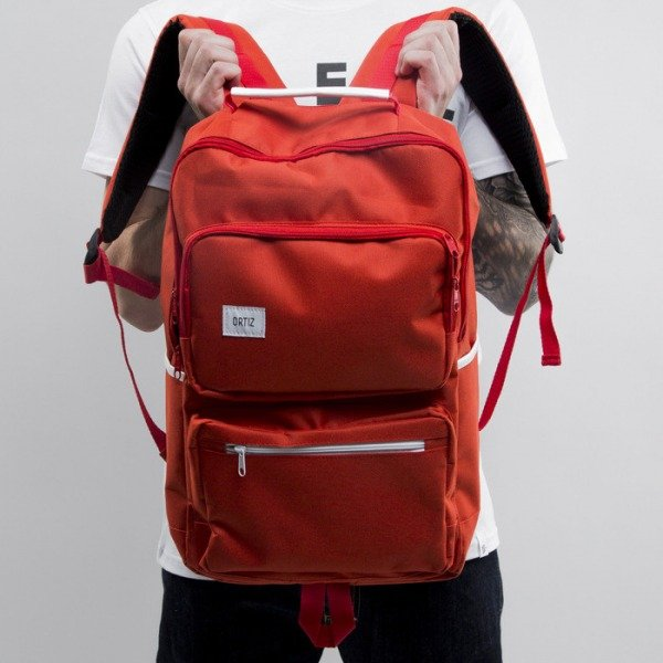 Ortiz backpack Hermit red