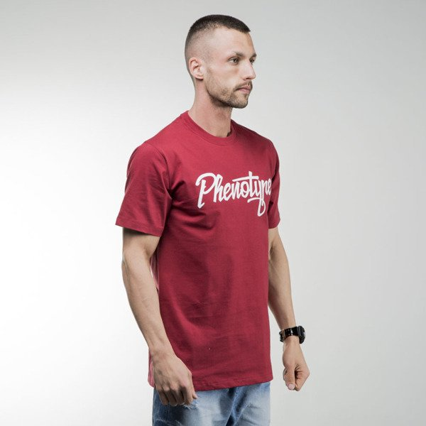 Phenotype Burgundy Logo Tee burgundy