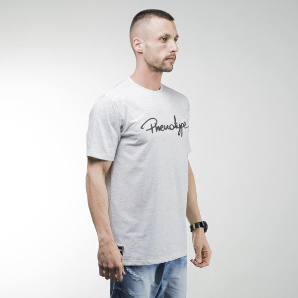 Phenotype Oreo Logo Tee light grey