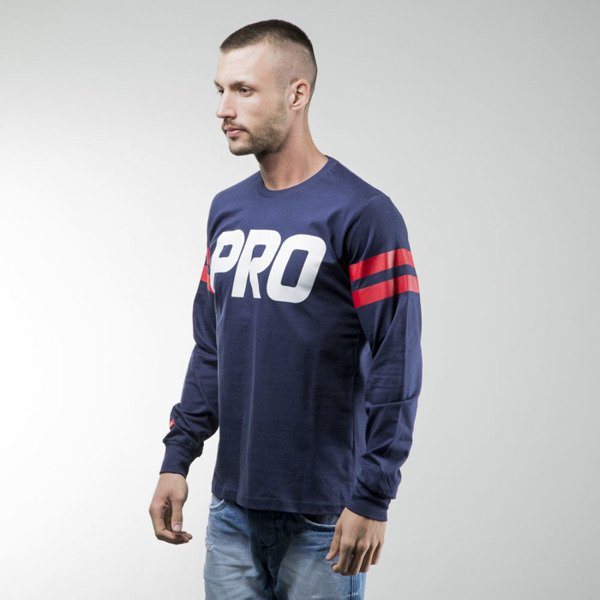 Prosto Klasyk Longsleeve Striped navy