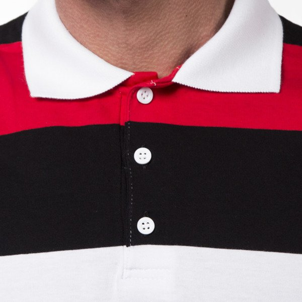 Prosto Klasyk Polo Long Haka black