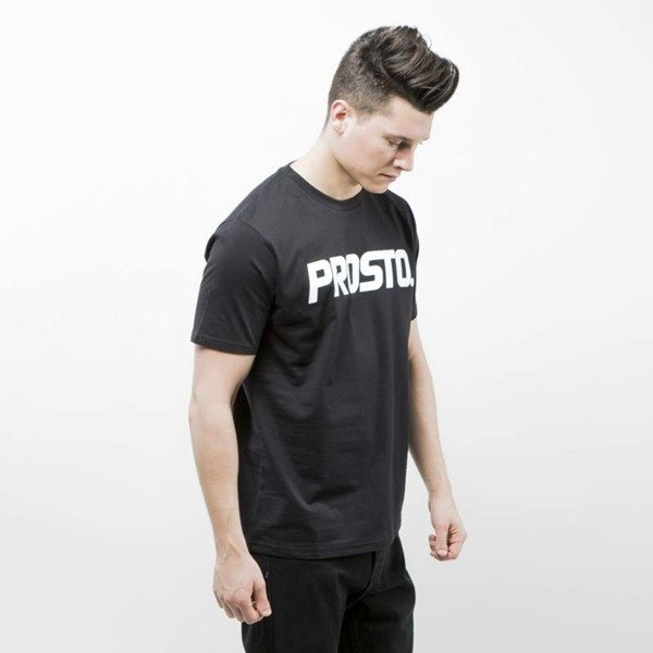 Prosto Klasyk T-Shirt Basic black / white