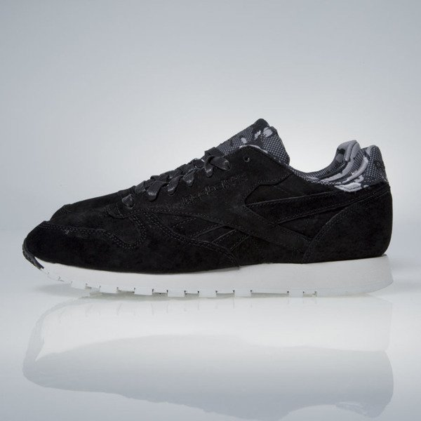 Reebok Classic Leather TDC black / skull grey (AR1433)