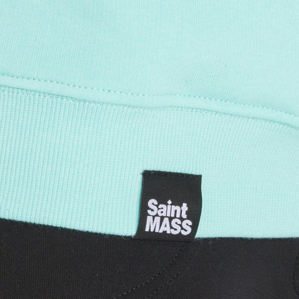 Saint Mass crewneck Shut Up Crewneck mint