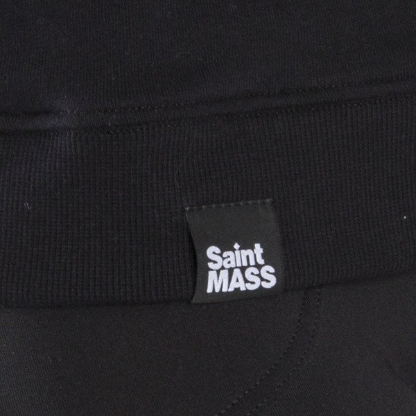 Saint Mass crewneck Shut Up black