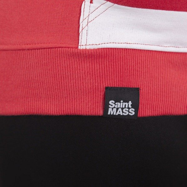 Saint Mass sweatshirt Flag Hoody pink