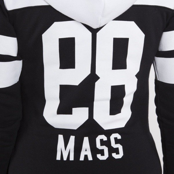 Saint Mass sweatshirt Pulse Hoody black / white