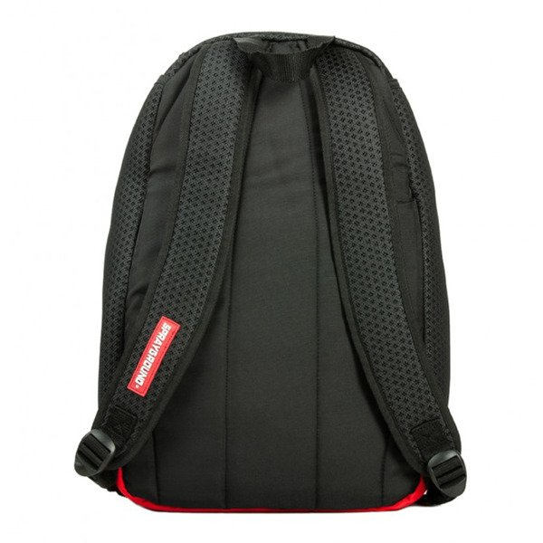Sprayground backpack Hexagon Mesh Cargo black