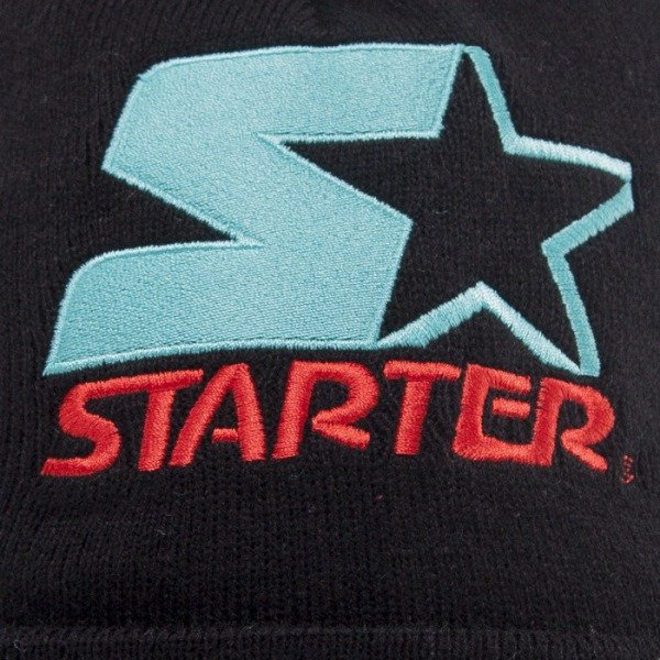 Starter beanie True Knit black/teal ST436