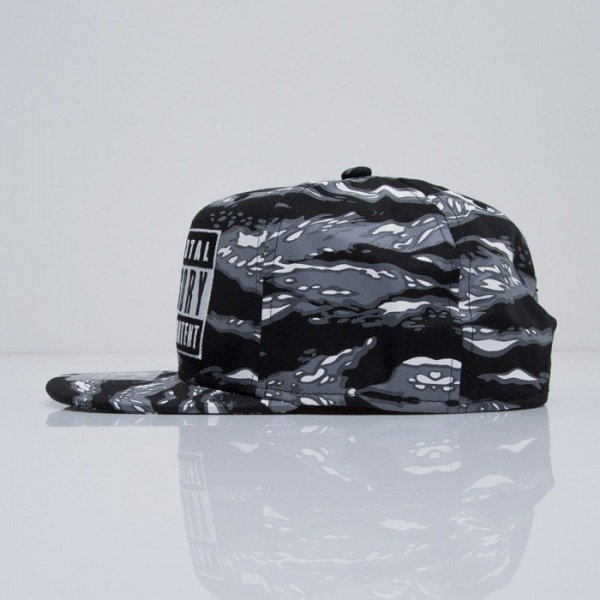 Starter cap Parental Advisory Core Logo SB black / grey (PA-019)