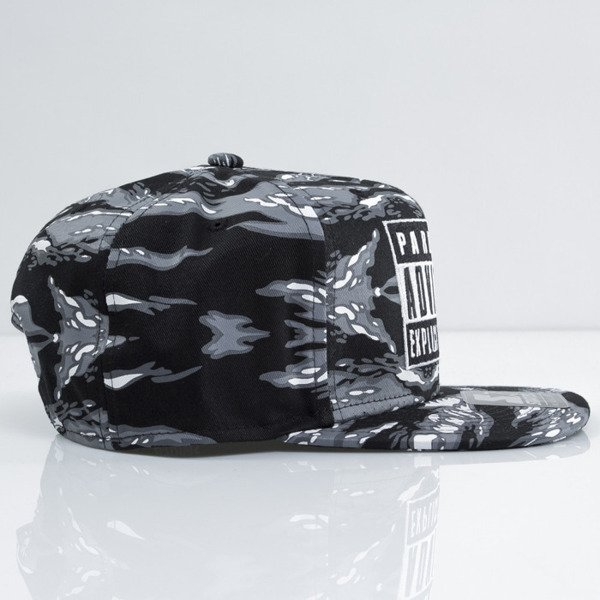 Starter cap Parental Advisory black / grey (PA-018)