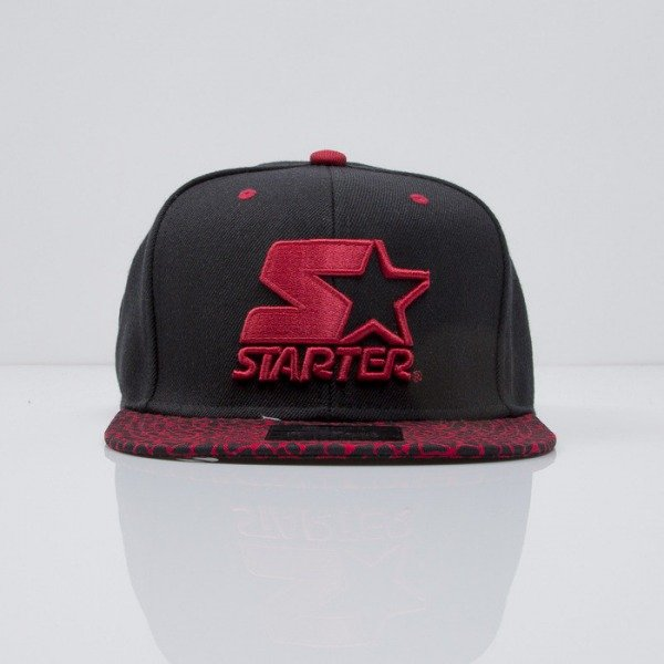 Starter cap Pool Visor black/red (ST-608)
