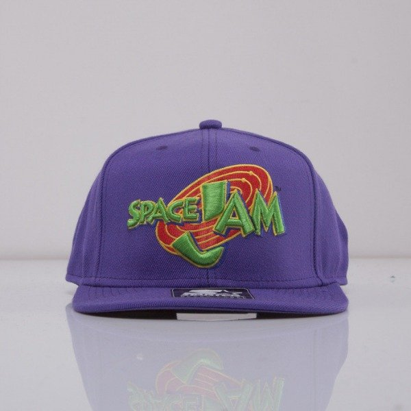 Starter cap Space Jam snapback purple Icon Logo SJ-002