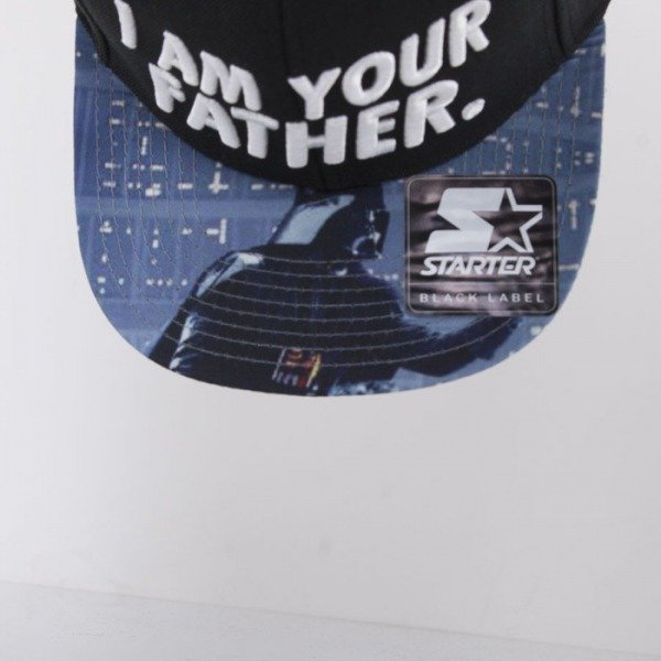 Starter cap Star Wars snapback black Quote Father
