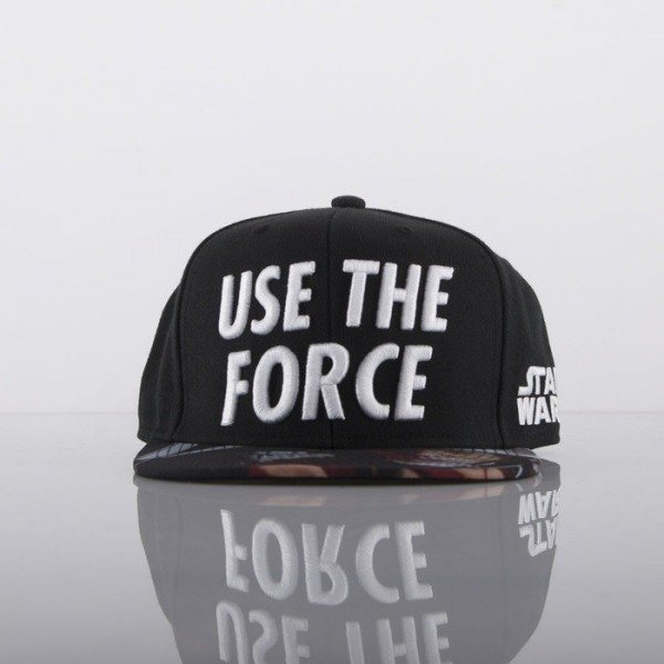 Starter cap Star Wars snapback black Quote Force