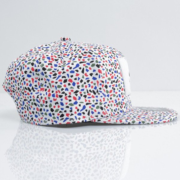 Starter cap snapback MTV All Over HD multicolor / white (MT-085)