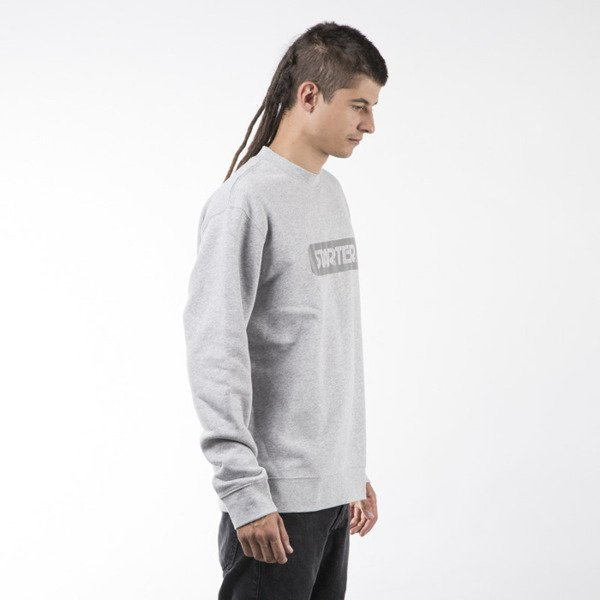 Starter crewneck Box Logo Sweat grey heather / 3M (ST-SW893-GRH-3M)