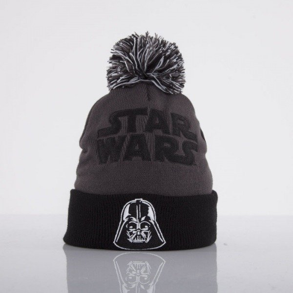 Starter czapka zimowa Star Wars black/grey  Face Bobble Knit Vader