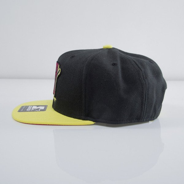 Starter snapback MTV Infill Icon black/yellow MT-005