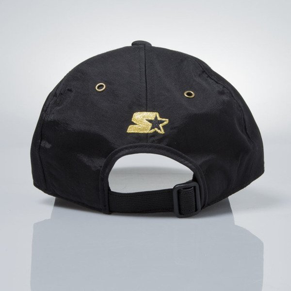 Starter stretch fit cap Signet Pitcher black / gold  ST-1226